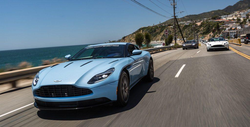 Brunch with Aston Martin